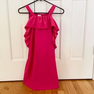Zara Girls sleeveless ruffle lined dress - 11/12